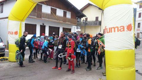 start line snowshoes race