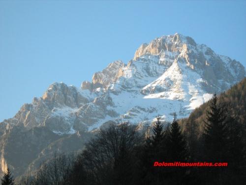 one big mountain