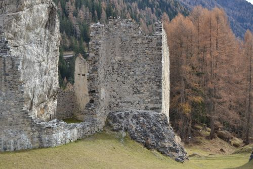strategic position of the castle