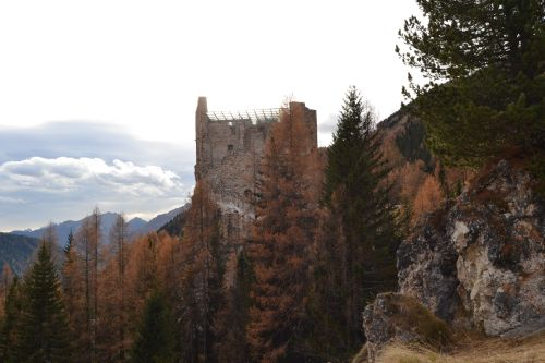 castle in the autumn