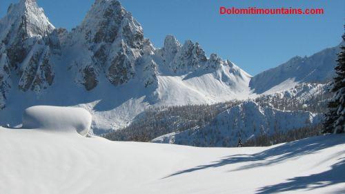 everything white on mountains