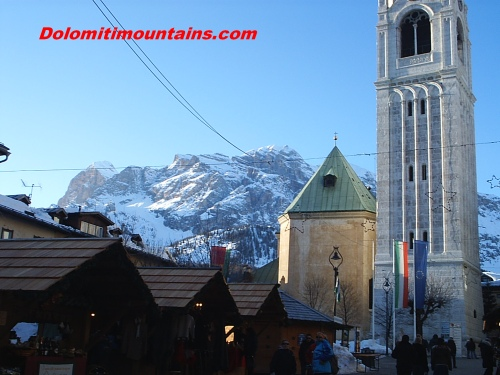 Cortina in winter