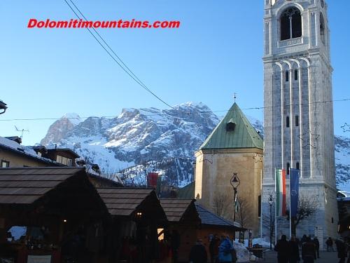 Cortina in winter