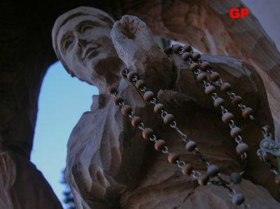 cultura dolomiti statua