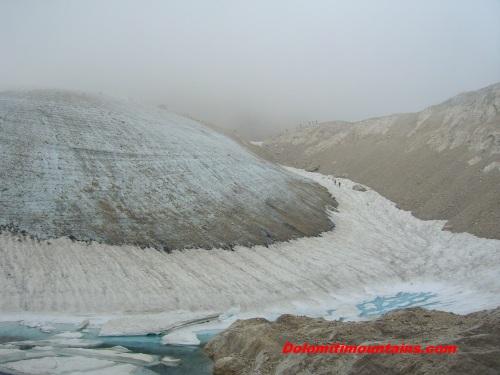 ferrata del ghiacciaio