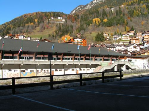 alleghe hockey stadium