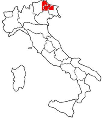 dolomites map