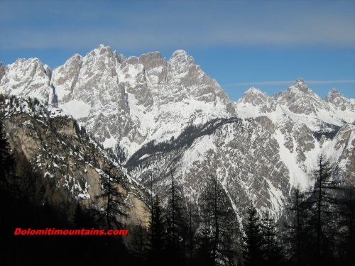 winter on marmarole