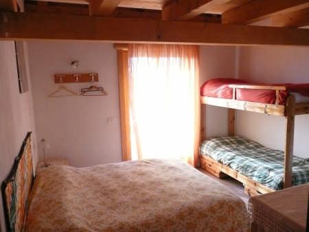 una delle accoglienti camere da letto