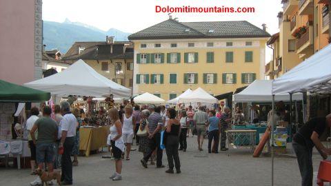 predazzo market