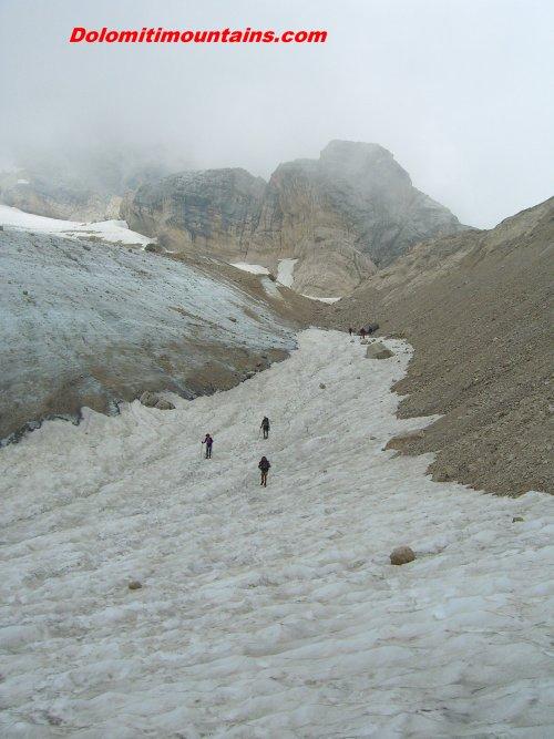 size of the glacier